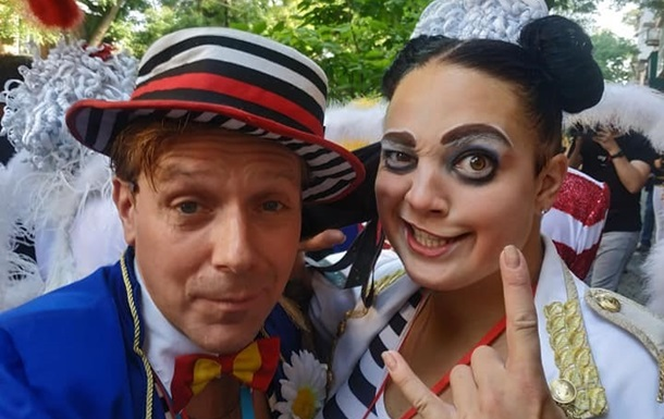 В Одесі почався ювілейний Фестиваль клоунів