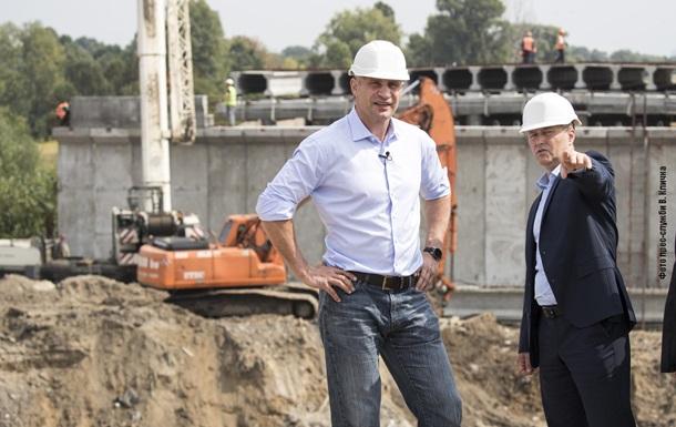 Кличко проинспектировал ремонт Большой Кольцевой дороги Киева - «Украина»