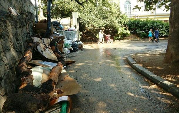В Крыму  мусорный коллапс