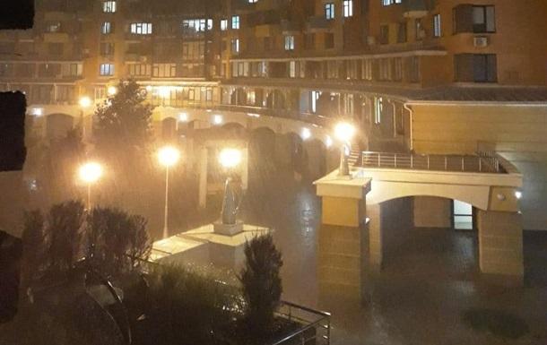 Киев накрыла мощная гроза с ливнем - «Украина»