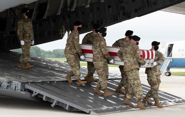 У США назвали підсумкові втрати в Афганістані
