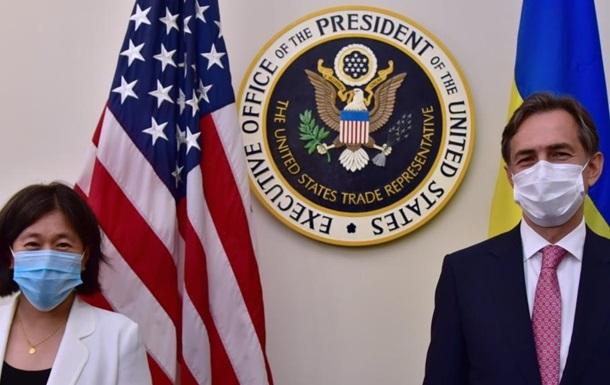 Украина и США договариваются об усилении торговли