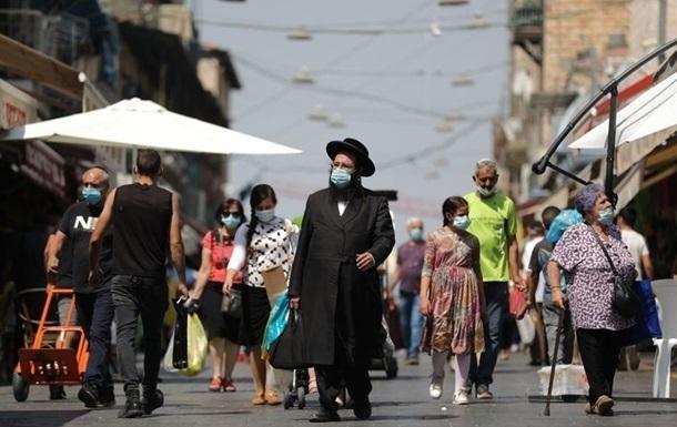 В Ізраїлі приріст COVID на максимумі з початку пандемії