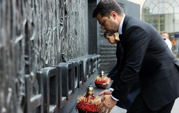 Зеленский в США почтил память жертв Голодомора