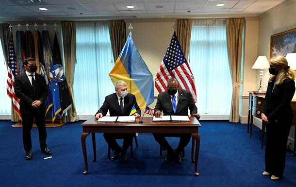 Украина и США договорились об оборонной стратегии