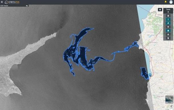 Пляма нафти в Середземному морі стала рухатися назад в Сирію