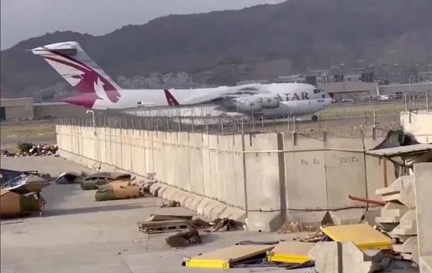 В Кабуле заметили первый иностранный самолет после вывода войск США