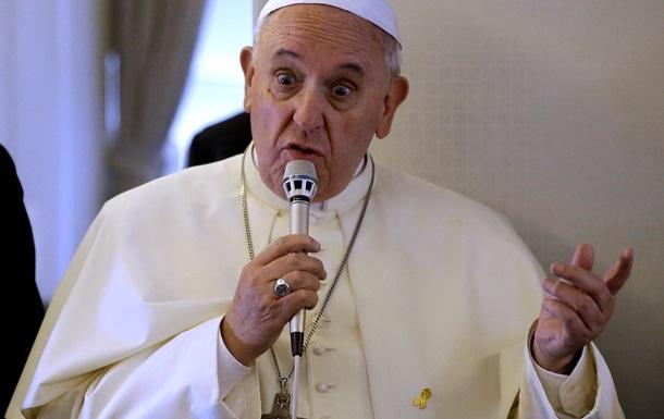 Папа Римский оконфузился, процитировав Путина вместо Меркель