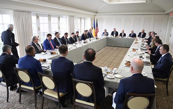 Зеленський провів зустріч з представниками бізнесу США