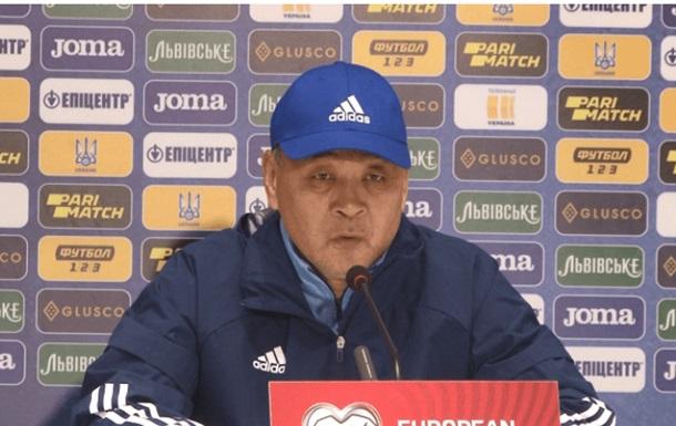 Тренер Казахстану: У другому таймі почали грати, як планували