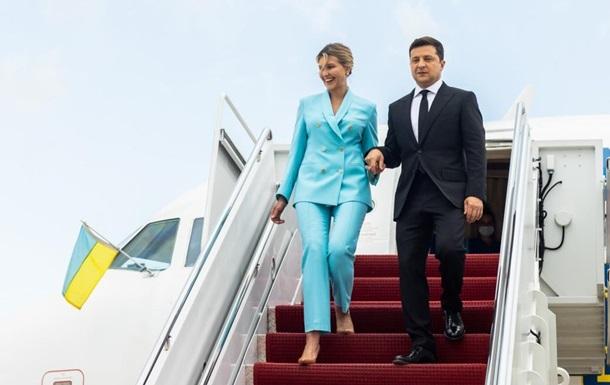 Президент України вперше приїхав до Каліфорнії