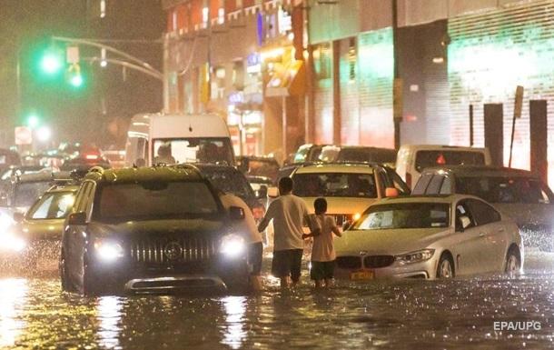У Нью-Йорку велика повінь через ураган Іда