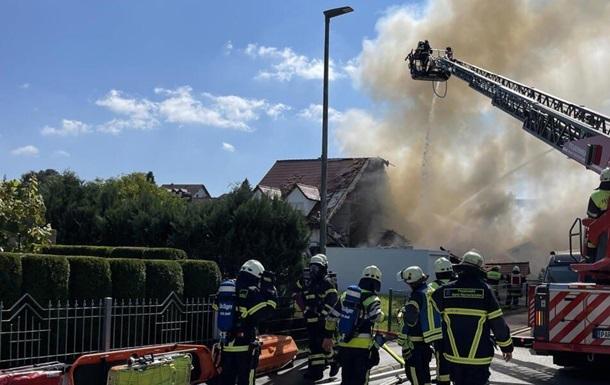 У Німеччині в житловому будинку прогримів вибух