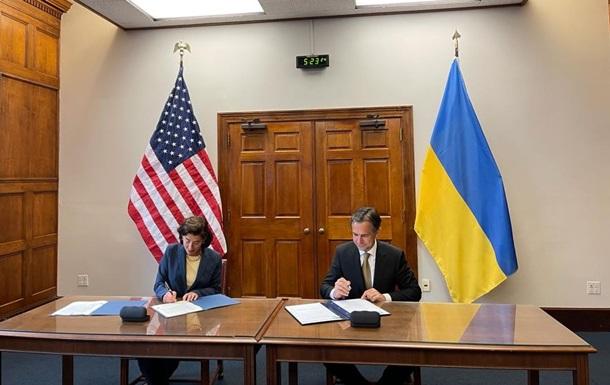 Україна і США підписали Меморандум про комерційну співпрацю