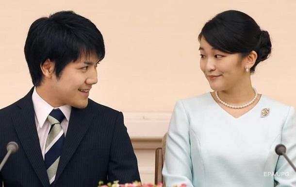 Японская принцесса откажется от 1,3 млн долларов из-за свадьбы