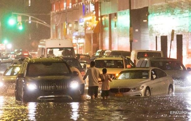Первое наводнение. Ураган добрался до Нью-Йорка