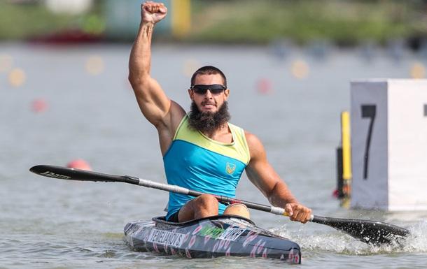 Емельянов - паралимпийский чемпион в гребле на байдарках и каноэ