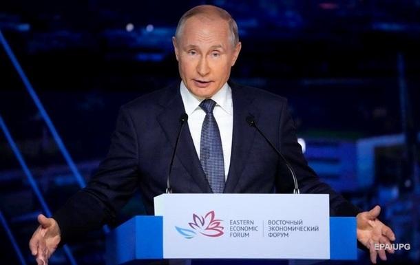 Путін: Відновимо наші відносини з Україною