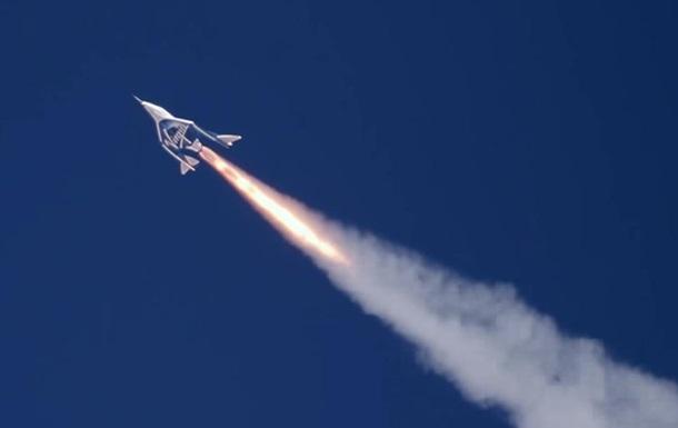 У США тимчасово заборонили польоти Virgin Galactic