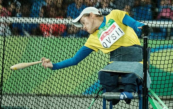 Овсій - паралімпійська чемпіонка в Токіо