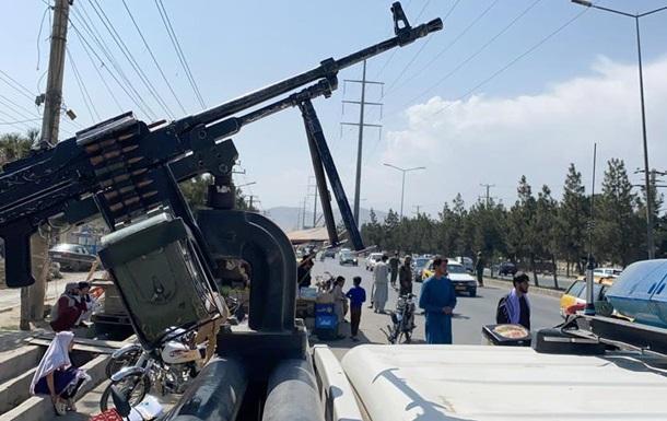Талибы устроили в Афганистане парад