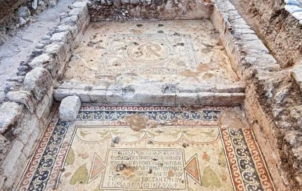 В Израиле обнаружили церковь, которой 1500 лет