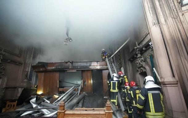 В Минкульте рассказали подробности пожара в костеле Святого Николая