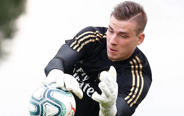 Лунін потрапив у заявку Реала на Лігу чемпіонів
