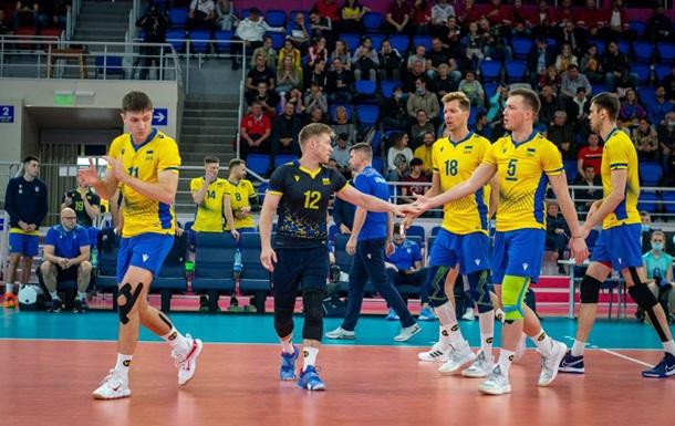Украина одержала вторую победу на волейбольном Евро-2021