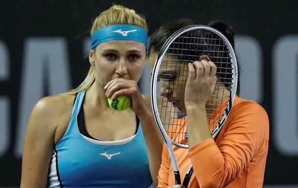 Киченок вышла в третий круг парного разряда на US Open