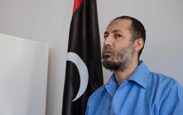 Сина Каддафі звільнили з тюрми в Лівії