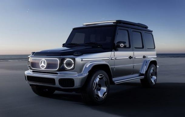 Представлений електричний Mercedes-Benz Гелендваген