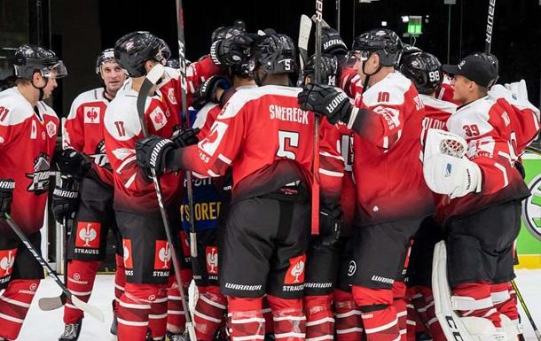 ХК Донбас стартував у Хокейній лізі чемпіонів