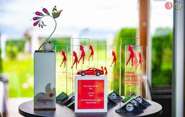 В Украине определилась победительница кубка Open Ladies Golf Tour 2021
