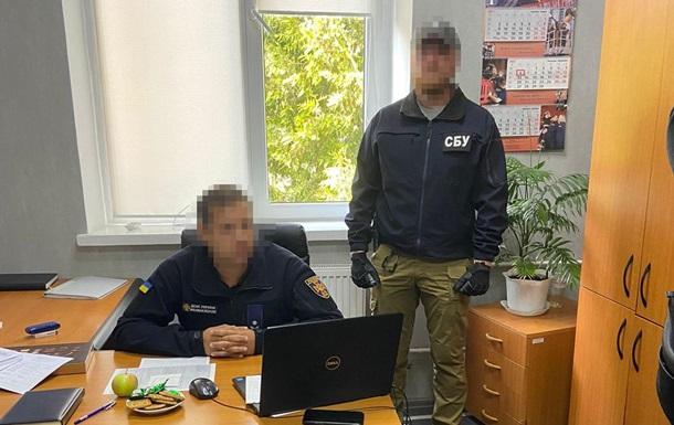 У Києві на хабарі затримали чиновника ДСНС