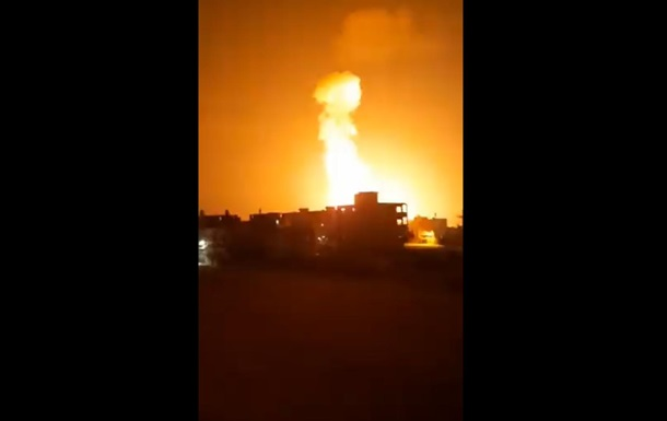 Ізраїль обстріляв виробництво ракет ХАМАС