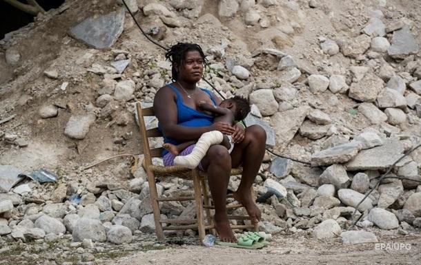 На Гаїті зросла кількість жертв землетрусу