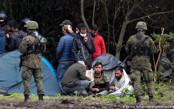 Польща нарахувала в Білорусі 10 тисяч мігрантів, які прагнуть у ЄС