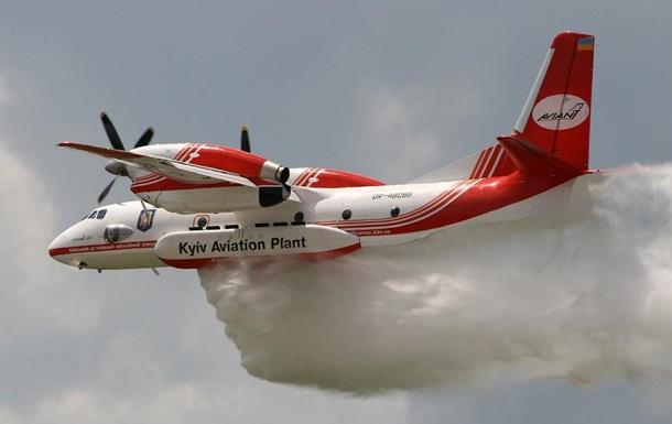 В МВД удвоят количество пожарных самолетов Ан-72П