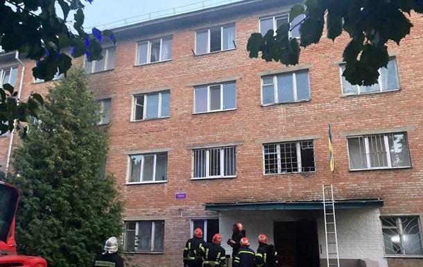 Пожар в общежитии университета Умани: пострадали шесть человек