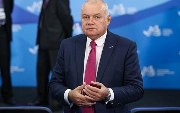 Російського ведучого Кисельова госпіталізували з COVID-19