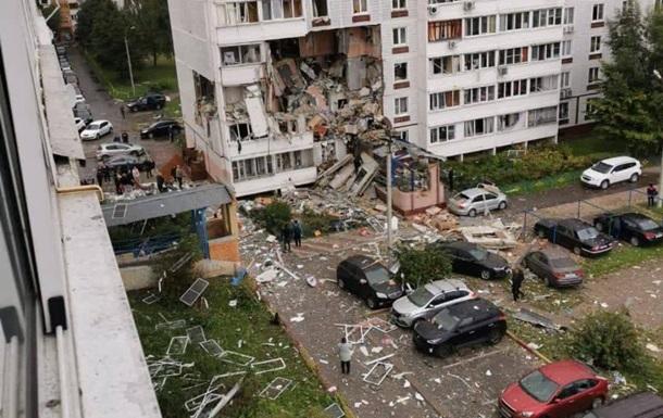 У Росії вибух газу розніс кілька поверхів багатоповерхівки