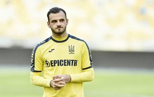 Булеца дебютував за збірну України