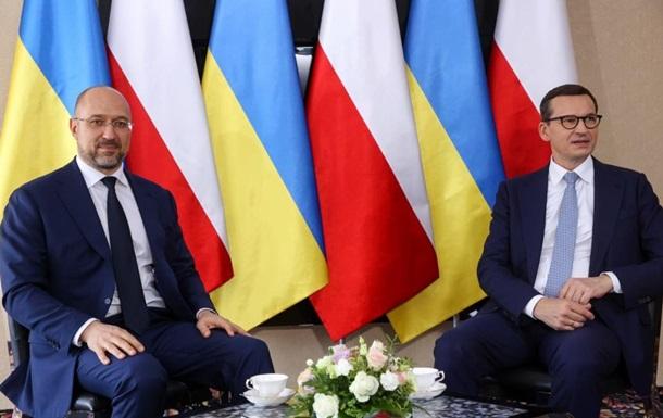 Началась встреча премьеров Украины и Польши