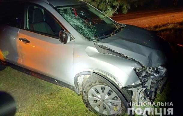 Под Ровно водитель на глазах полиции совершил ДТП и пытался сбежать