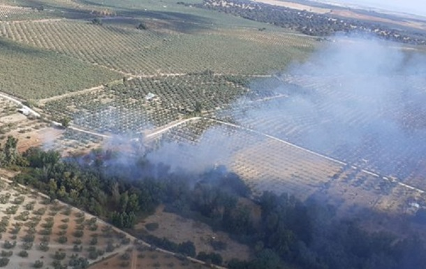 В Іспанії евакуювали понад 400 людей через лісову пожежу