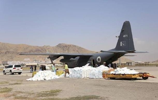 Афганістан отримав гуманітарну допомогу з п яти країн