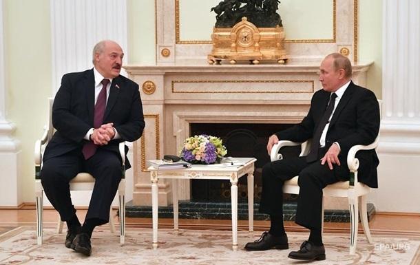 Путін і Лукашенко узгодили `союзні` програми