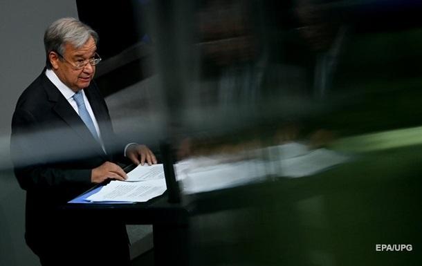 Генсек ООН закликав світ до діалогу з `Талібаном`