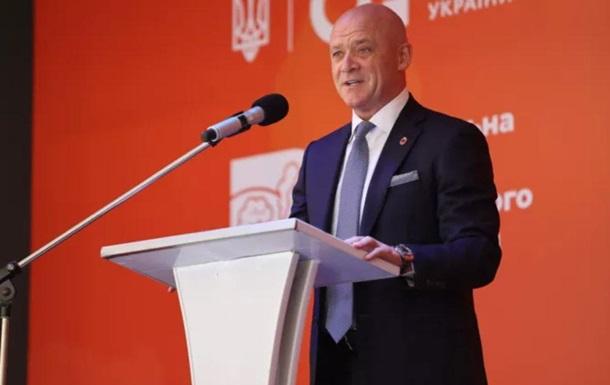 Труханов розповів про зразкове харчування одеських школярів